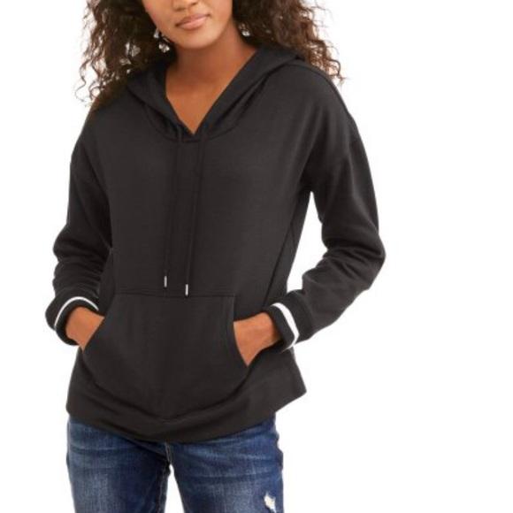 6d9c62b6112 Mia Kaye Pullover Black Hoodie Sweatshirt